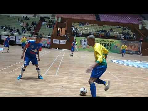 Nepal Vs Brazil  Futsal Match Clip 2018
