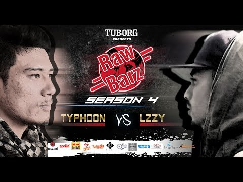 TYPHOON VS LZZY (Official Battle) | Tuborg Presents RawBarz Rap Battle S4E4 2018 Video