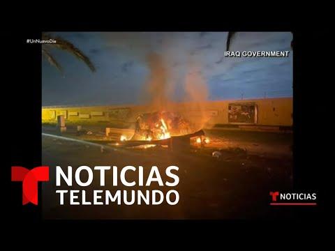Las Noticias de la mañana, 3 de enero de 2020 | Noticias Telemundo