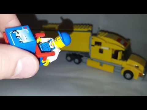 Lego City Truck 3221 Set Review Youtube