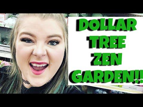 DIY Dollar Tree Zen Garden!!