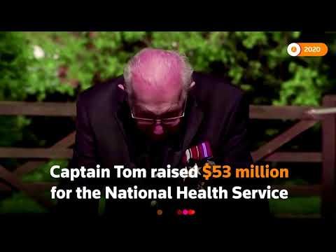 Family of UK's Captain Tom call for fundraising celebration