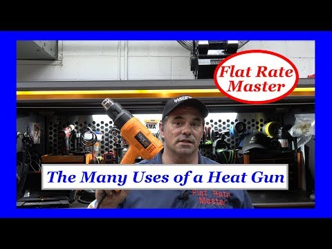 The Many Uses Of A Heat Gun Youtube