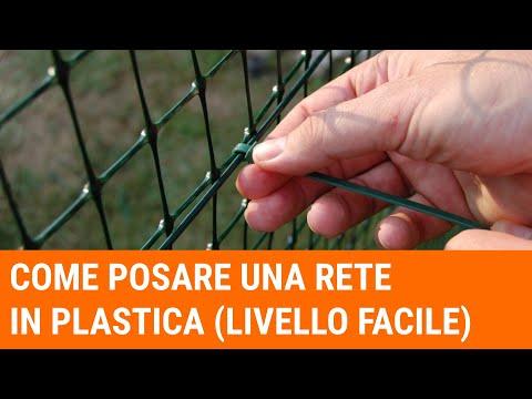 Staccionata In Plastica Giardino.Tutorial Come Installare Una Recinzione In Plastica Livello