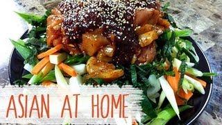 Chicken Recipe : Korean Spicy Bbq Chicken Recipe (dak Galbi Recipe) : Korean Food : Asian At Home