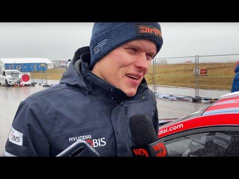 OTT TÄNAK 2ND PLACE - Rally Sweden 2020