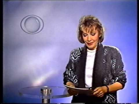 Tafel Spielfilm + Ansage Programmansage Ursula Sluka Bayern 3 (1988)