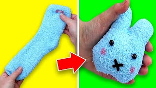 3 Insanely Adorable DIY Sock Toys