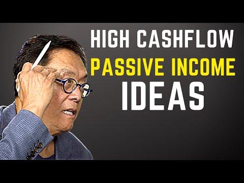 Robert Kiyosaki: HIGH CASHFLOW PASSIVE INCOME IDEAS[Generate Cash Flow]