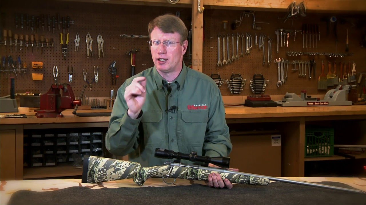 American Rifleman Television Review - Kimber Mountain Ascent Rifle