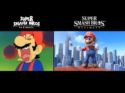 Super Smash Bros. Ultimate Intro - Animated vs. Official thumbnail