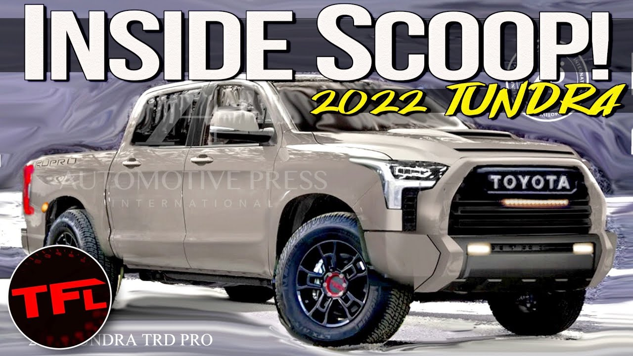 Here's How The New 2022 Toyota Tundra Could Look, According To An Industry Expert!