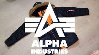 обзор парки Alpha Industries N3B Slim Fit. Самая легендарная парка
