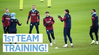 SHARPENING UP FOR THE WEEKEND |  MAN CITY TRAINING