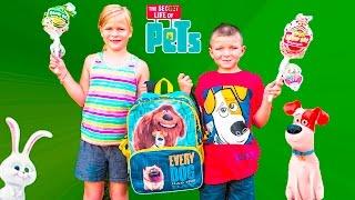 ASSISTANT + BATBOY Secret Life of Pets Surprise Treasure Hunt TheEngineeringFamily Funny Video