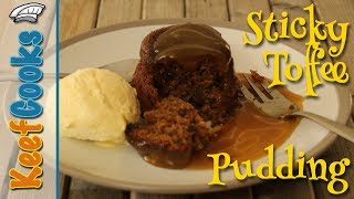 Sticky Toffee Pudding Recipe - Modern British Classic Dessert #keefcooks