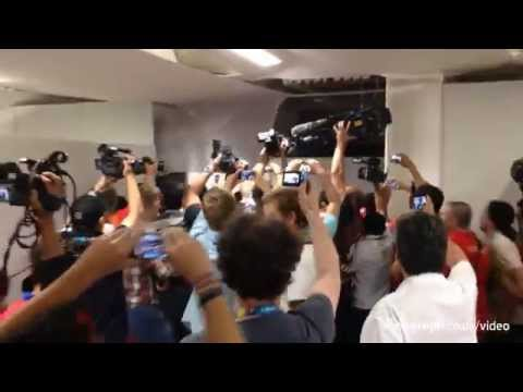 World Cup 2014: Chile fans storm Maracana media centre in ticket protest