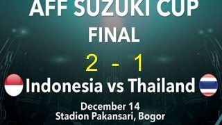INDONESIA VS THAILAND 2-1  Leg 1 FULL MATCH 1080p