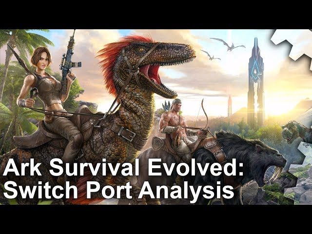 Ark: Survival Evolved on Switch is cut back to the absolute