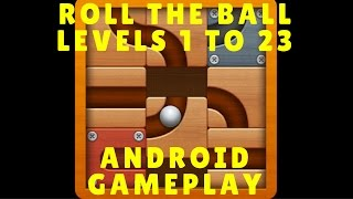 Roll the Ball: Slide Puzzle Game - LEVELS 1 to 23 Android Gameplay HD screenshot 5
