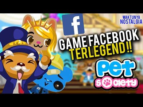 GAME FACEBOOK PALING MEMORABLE | GAME PET SOCIETY INDONESIA #WAKTUNYANOSTALGIA
