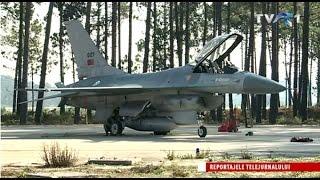 """Antrenament cu """"Şacalul"""": F16, noua armă a României"""