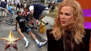 Nicole Kidman Stunned By Geraint Thomas' Broken Pelvis | The Graham Norton Show