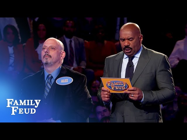 Can Alex pull off a big comeback?   Family Feud