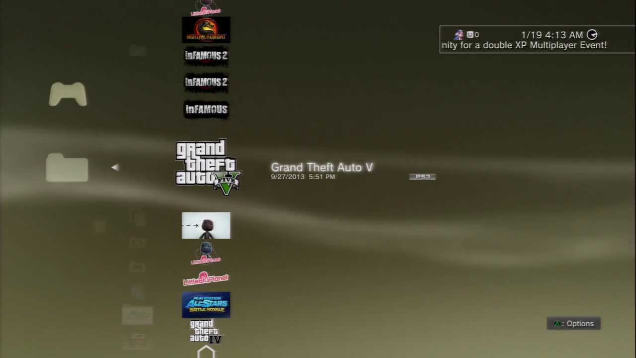 Solution To Grand Theft Auto V Freezing (PS3)