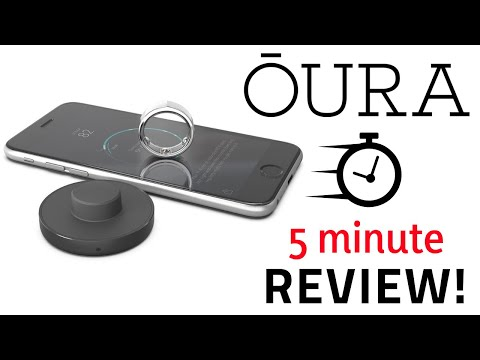 Oura Ring Review 2020.Oura Ring Quick 5 Minute Review New 2018 Oura Ring 2