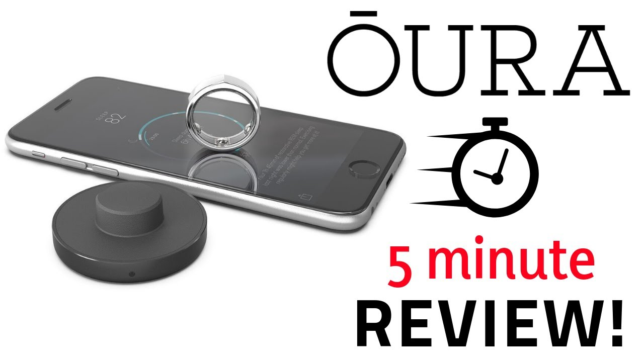 Oura Ring - Quick 5 Minute Review! (New 2018 Oura Ring 2 Review)