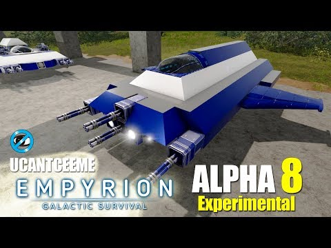 Empyrion Galactic Survival   Alpha 8 Experimental   SCRATCH SV SMALL VESSEL SPACESHIP BUILD   Ep. 12