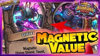 HearthstonE - MAGNETIC VALUE WTF Moments - Boomsday Funny Rng Moments