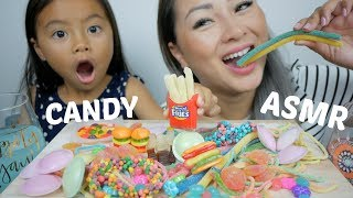 CANDY ASMR Mukbang | N.E Let's Eat
