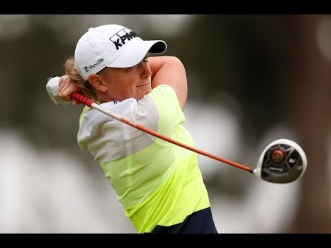 Stacy Lewis' Runner-Up Interview from Swinging Skirts LPGA Classic