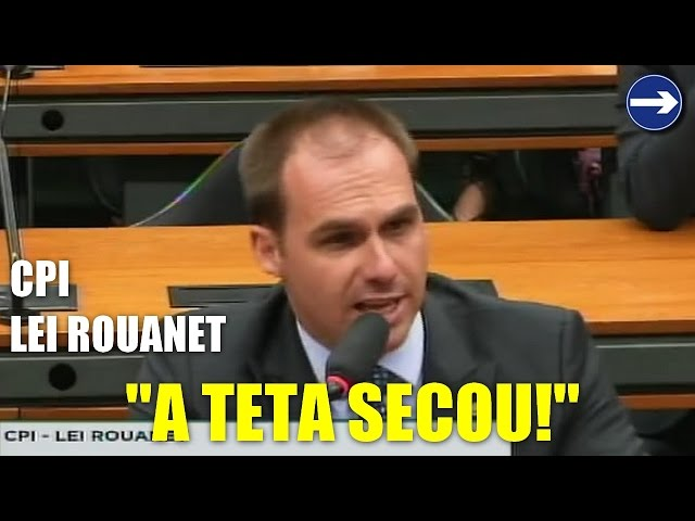 ? Eduardo Bolsonaro manda aviso e deixa artistas apavorados na CPI da Lei Rouanet: a teta secou!