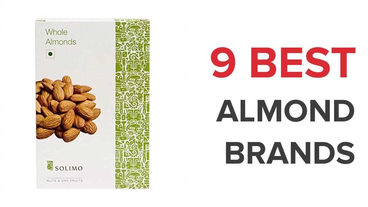 9 Best Almond Brands in India