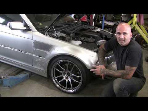 BMW Widebody Fender Flares, Step by Step Metalwork Guide: Part 1