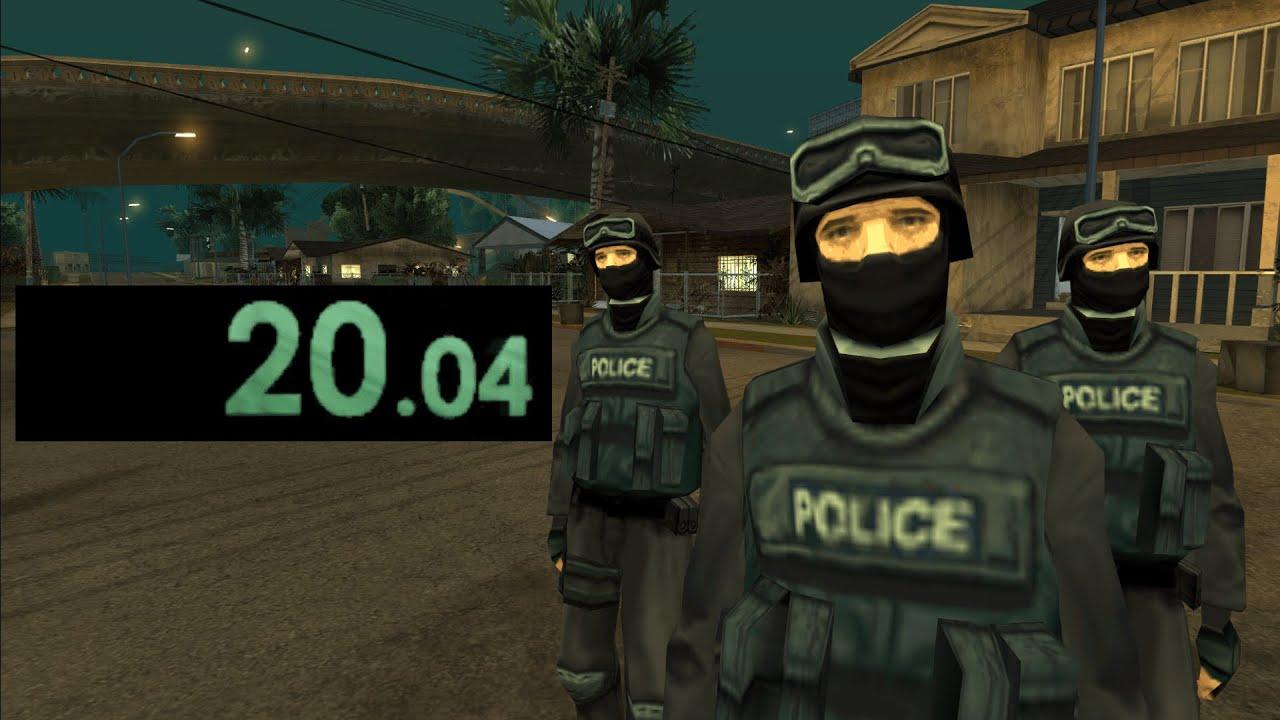 GTA SA Speedrun SWAT World Record