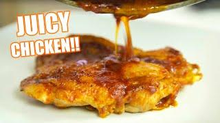 Super Juicy BBQ Chicken Recipe