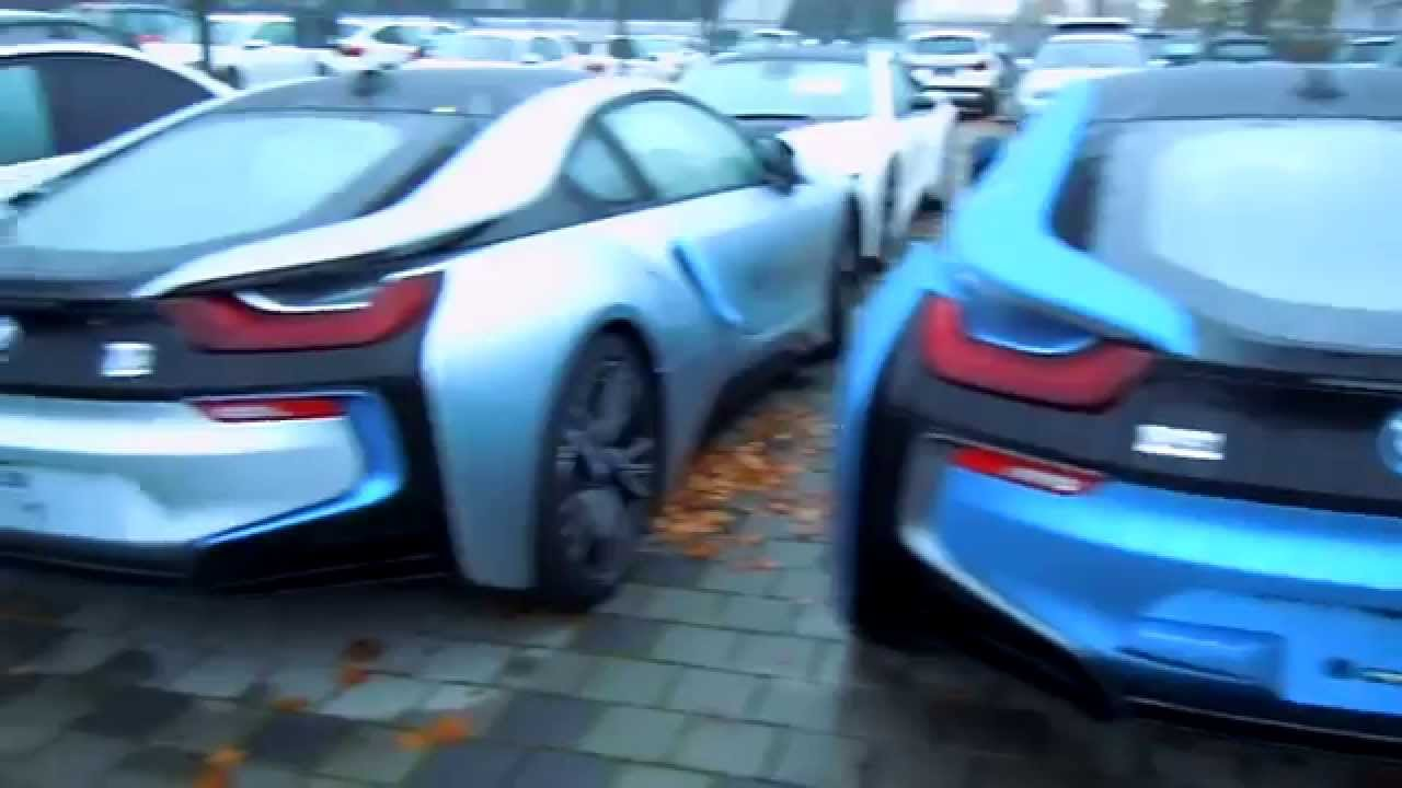 Must See 5x Bmw I8 All Colours Youtube