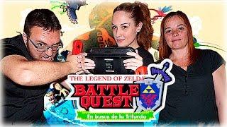ENSEÑANDO TATUAJES OCULTOS XD | Zelda Battle Quest | Lady Boss