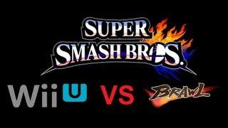Super Smash Bros Wii U Vs Super Smash Bros Brawl Character Comparison (side by side) E3M13