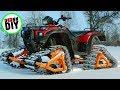 Homemade ATV tracks - Part 5 - Finished!