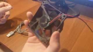 Вентилятор USB (збираємо з непотребу))