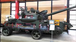 Облегчённый Т-62.