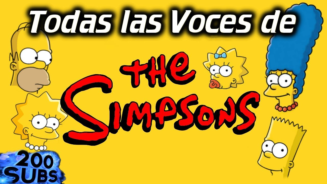 Todas Las Voces De Los Simpsons En Menos De 15 Minutos 30 Youtube