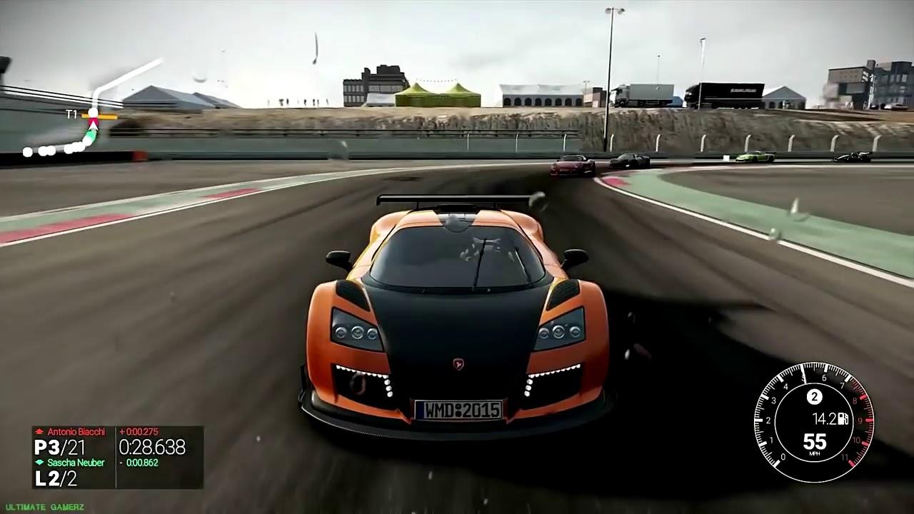 meilleur jeux de course de voiture ps4 youtube