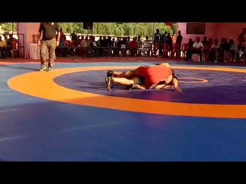 sagar birajdar central railway 125 kg | 60th c'rly wrestling c'ship jabalpur