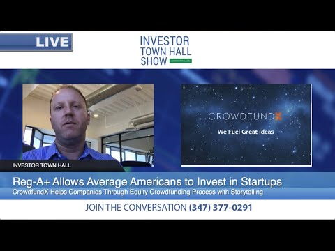 CrowdfundX - CEO Darren Marble - Reg A+ Equity Crowdfunding on Elio Motors, IPO Investing